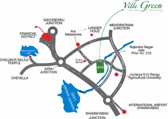 SV Ville Green Location Plan