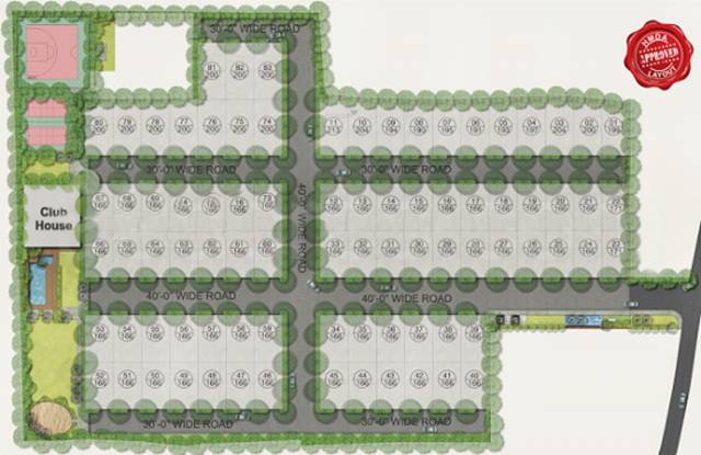 SV Ville Green Site Plan