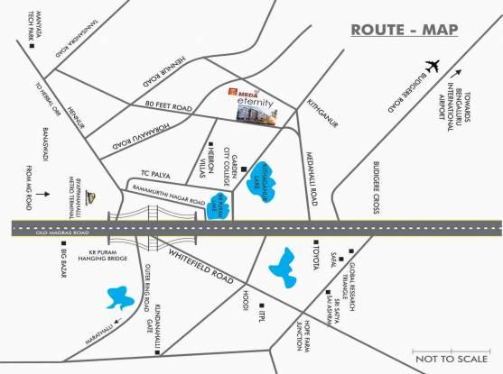 Meda Eternity Location Plan