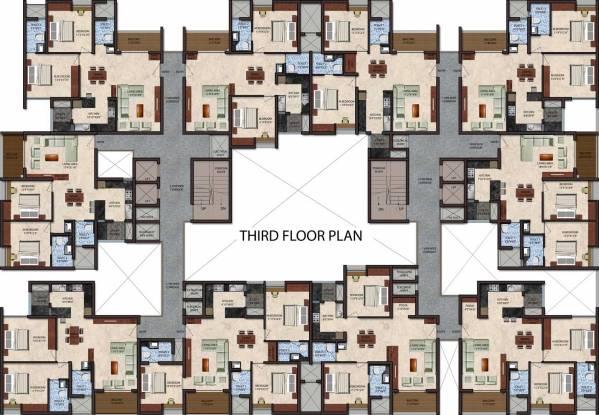 Upscale Golden Lotus Cluster Plan