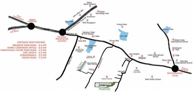 Essem Poetree Location Plan