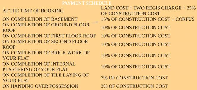 Firm Vaibhav Payment Plan