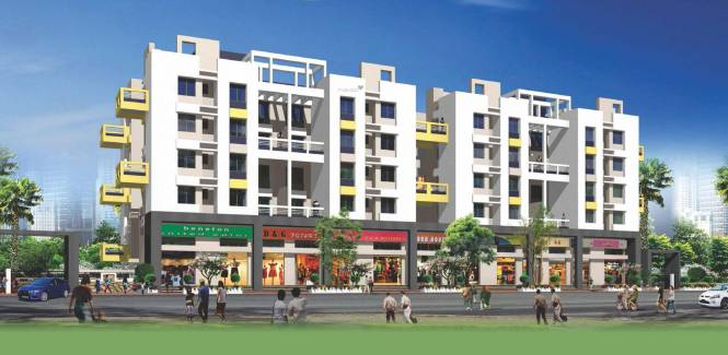 Harshad Ashok Nagar Phase III Elevation