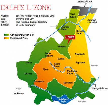 SRS Dwarka Next Location Plan