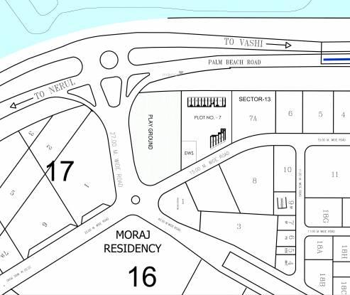 Akshar One Akshar Location Plan