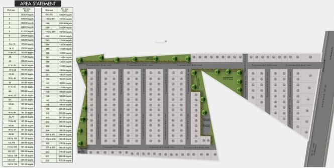 PVR T Town Layout Plan