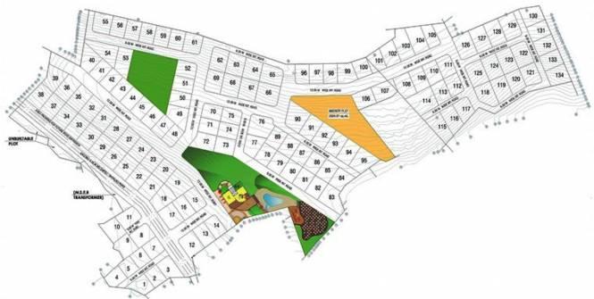 Gaurang Antarnad Layout Plan