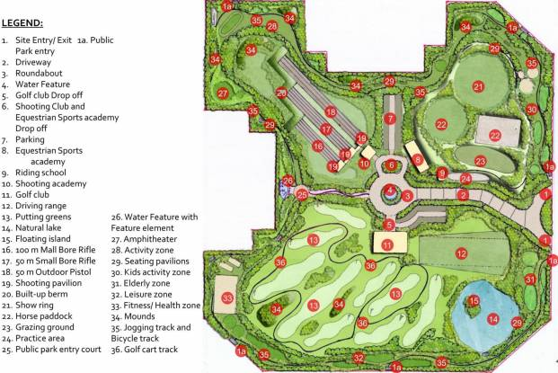 ATS The Hedges Layout Plan