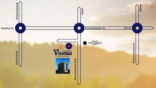 Cordon Viswaas Location Plan