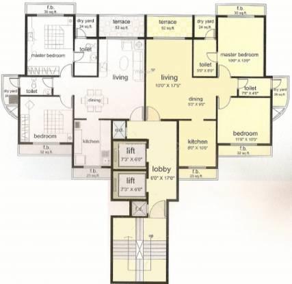 Metro Chaurang Heights Cluster Plan
