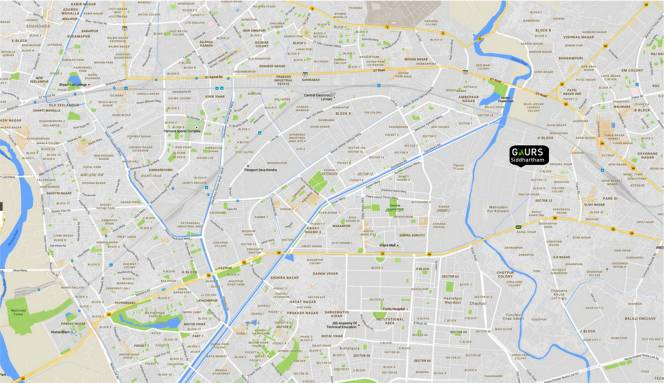 Gaursons Siddhartham Location Plan