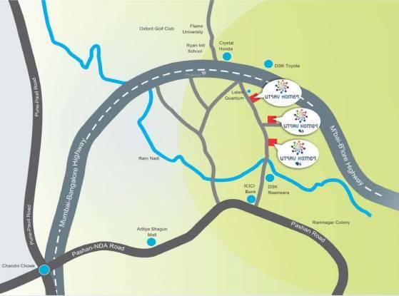 Prime Utsav Homes 3 Phase 1 Location Plan