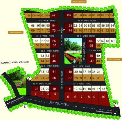 Building Landmark 4 Layout Plan