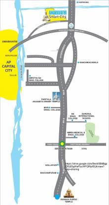 Aarna Amaravathi Smart City Location Plan