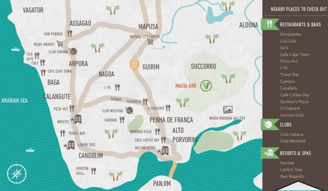 Vianaar Magia Arr Location Plan