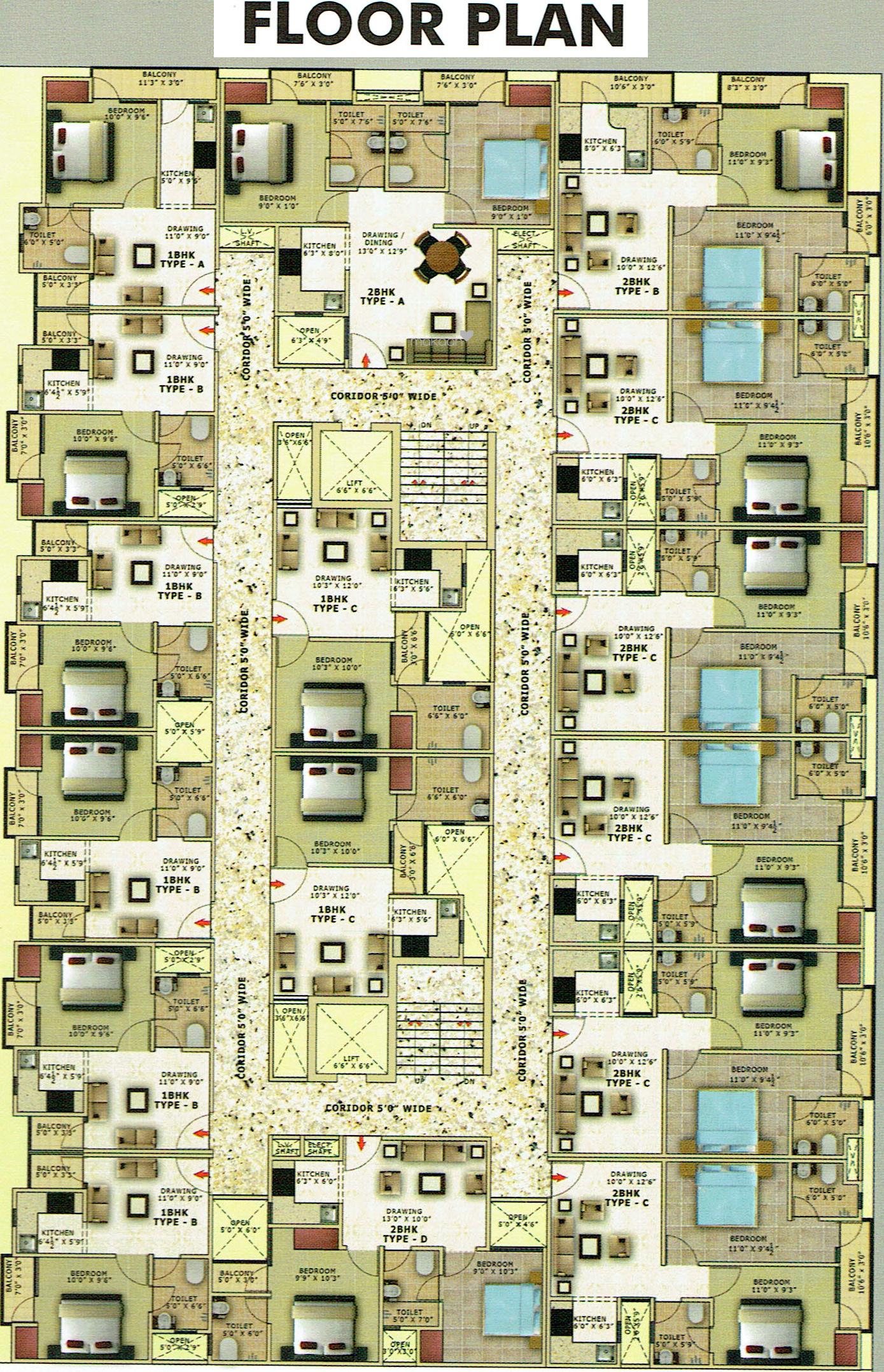 Builders Hi Tech Homes in Sector 104 Noida Flats for Sale in