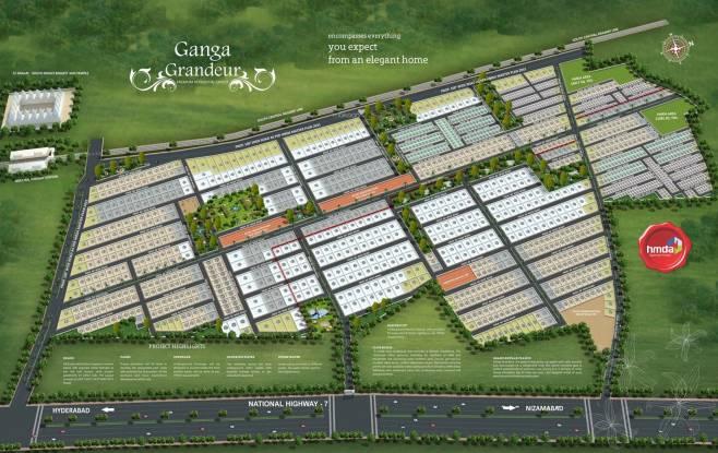 Dream Ganga Grandeur Layout Plan