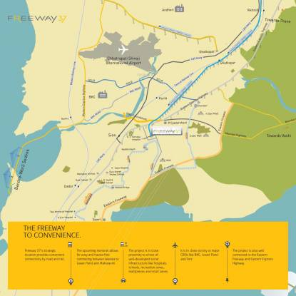Trans India Freeway 37 Location Plan