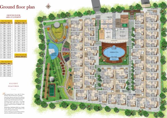 Garuda Royal Homes Cluster Plan