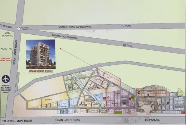 Bhaveshwar Avenue Location Plan