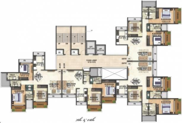Varsha Balaji Heritage Cluster Plan