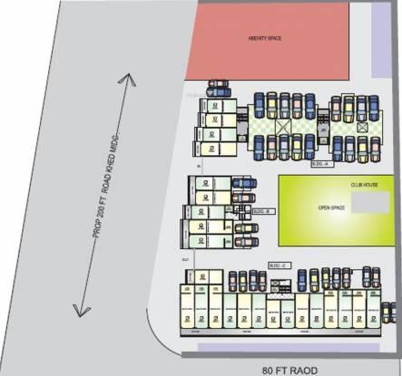 Aaiji Aura City Cluster Plan