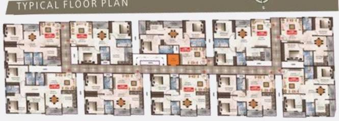Sai Sri Aditya Nivas Cluster Plan