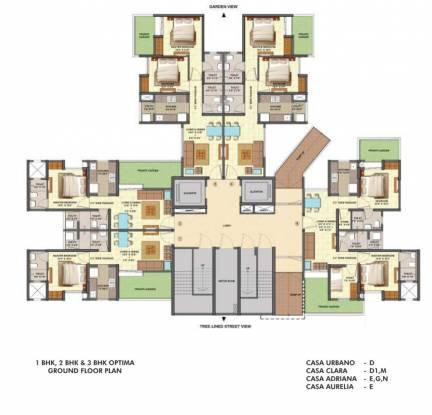 Lodha Centre Park Cluster Plan
