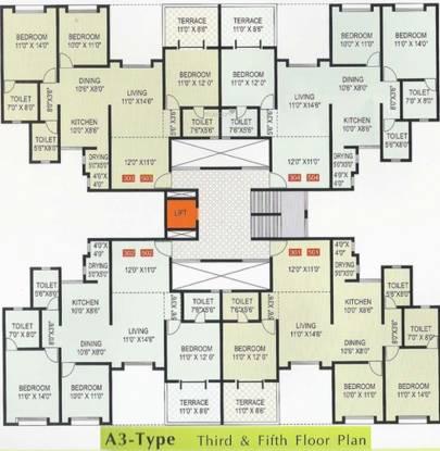 GK Dwarka Lords Cluster Plan