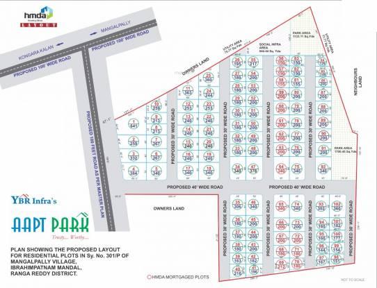 YBR Aapt Park Layout Plan