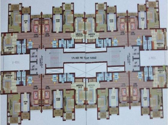 Shantistar Shanti Seven Cluster Plan