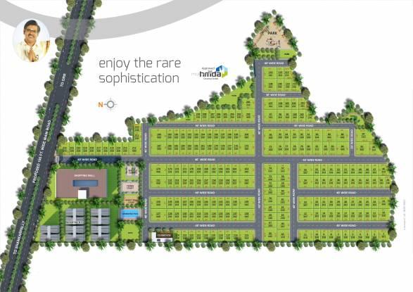 Subhagruha Sukrithi Avanthi Layout Plan