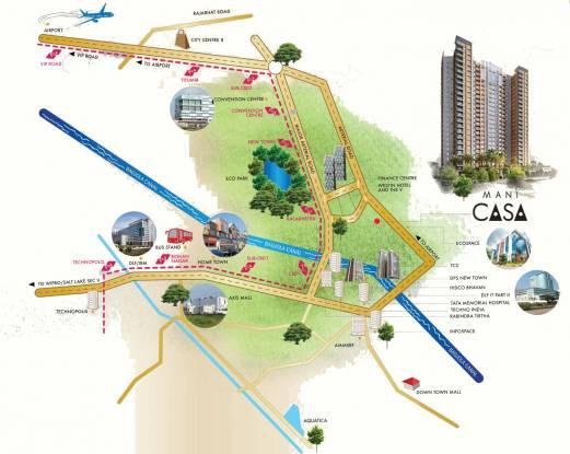Mani Casa Location Plan