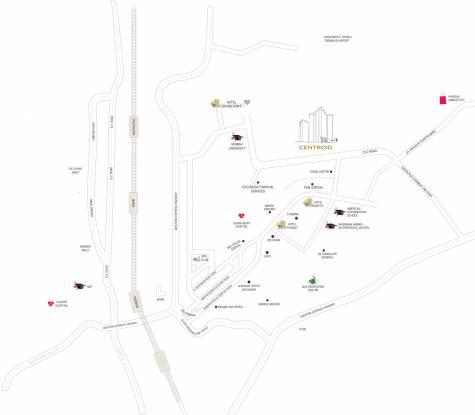 Kabra Centroid A Location Plan