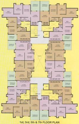 Rohan Rutej Nest Cluster Plan
