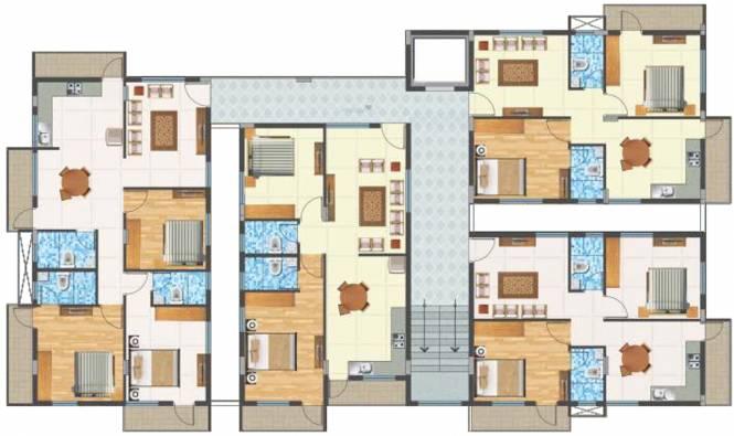 Balaji Oasis Cluster Plan