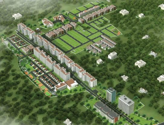 BBCL Auracity Appartment Layout Plan