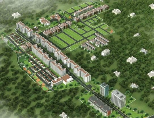 BBCL Auracity Villa Layout Plan