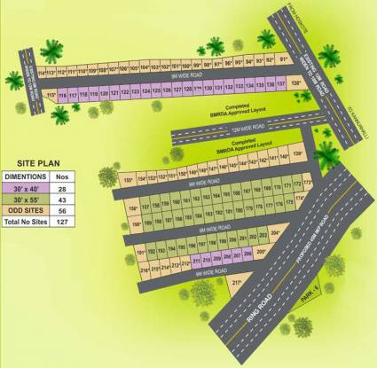 Tekton City Garden Layout Plan