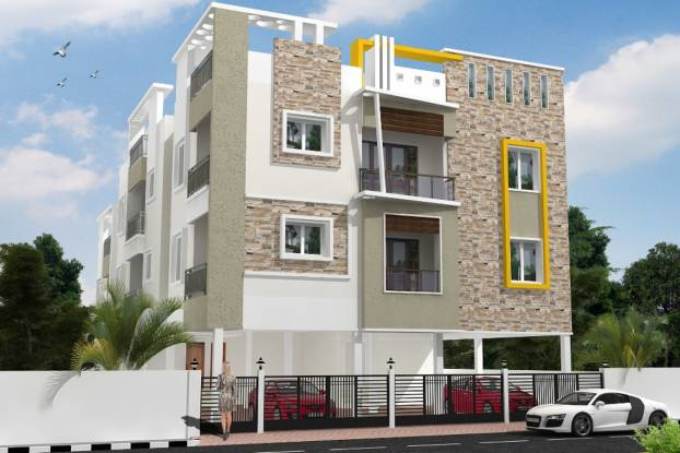 Ryka Jeeva Apartment Elevation