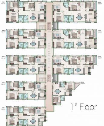 Jain Ravi Gayathri Heights Cluster Plan