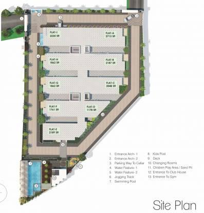 Jain Ravi Gayathri Heights Site Plan