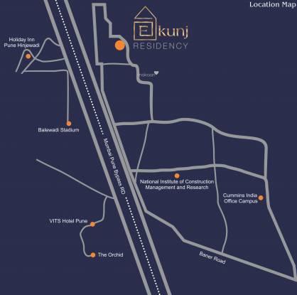 Madhuban Ekunj Residency Location Plan