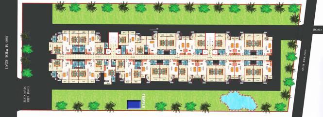 KMF Gokul Dham Layout Plan