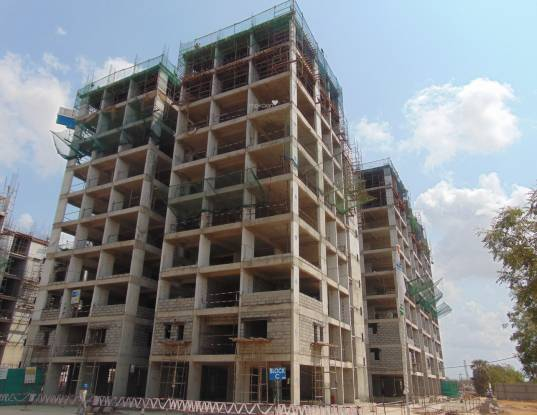 LEPL The Residences At Mid Valley City Construction Status