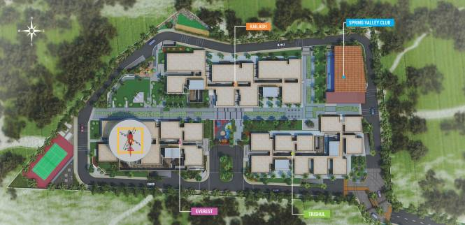 LEPL The Residences At Mid Valley City Layout Plan