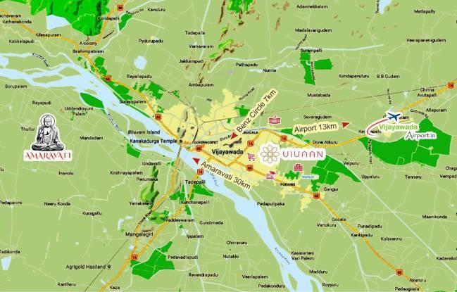 KMV Vivaan Location Plan