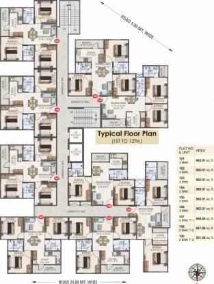 Dhanuka Sunshine Aditya Cluster Plan