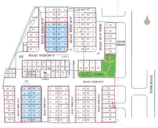 Ruby Welkin Villas Site Plan