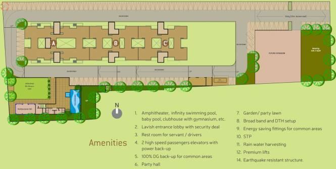 VTP Solitaire Site Plan